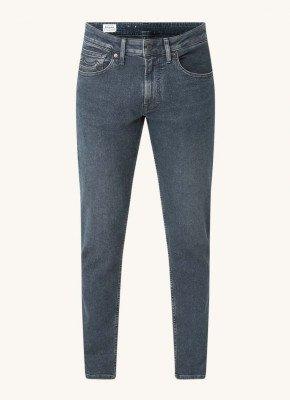 Kings Of Indigo Kings of Indigo Charles slim fit jeans met donkere wassing